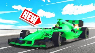 *NEW* TOP SPEED RECORD F1 CAR In GTA 5! (DLC)