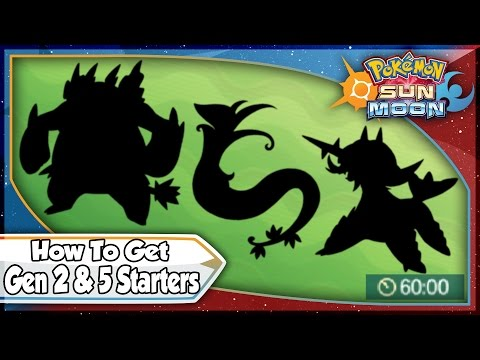 Pokemon Sun and Moon - Island Scan For Gen 2 & 5 Starters!  [SM Tips & Tricks]