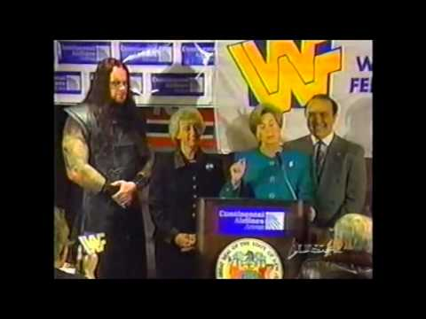 New Jersey press conference with The Undertaker - 1997