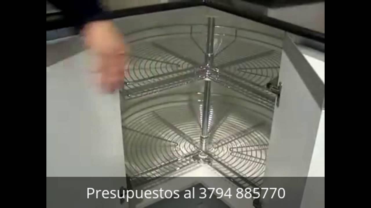 Herrajes para esquinero de cocinas  Biotec Muebles