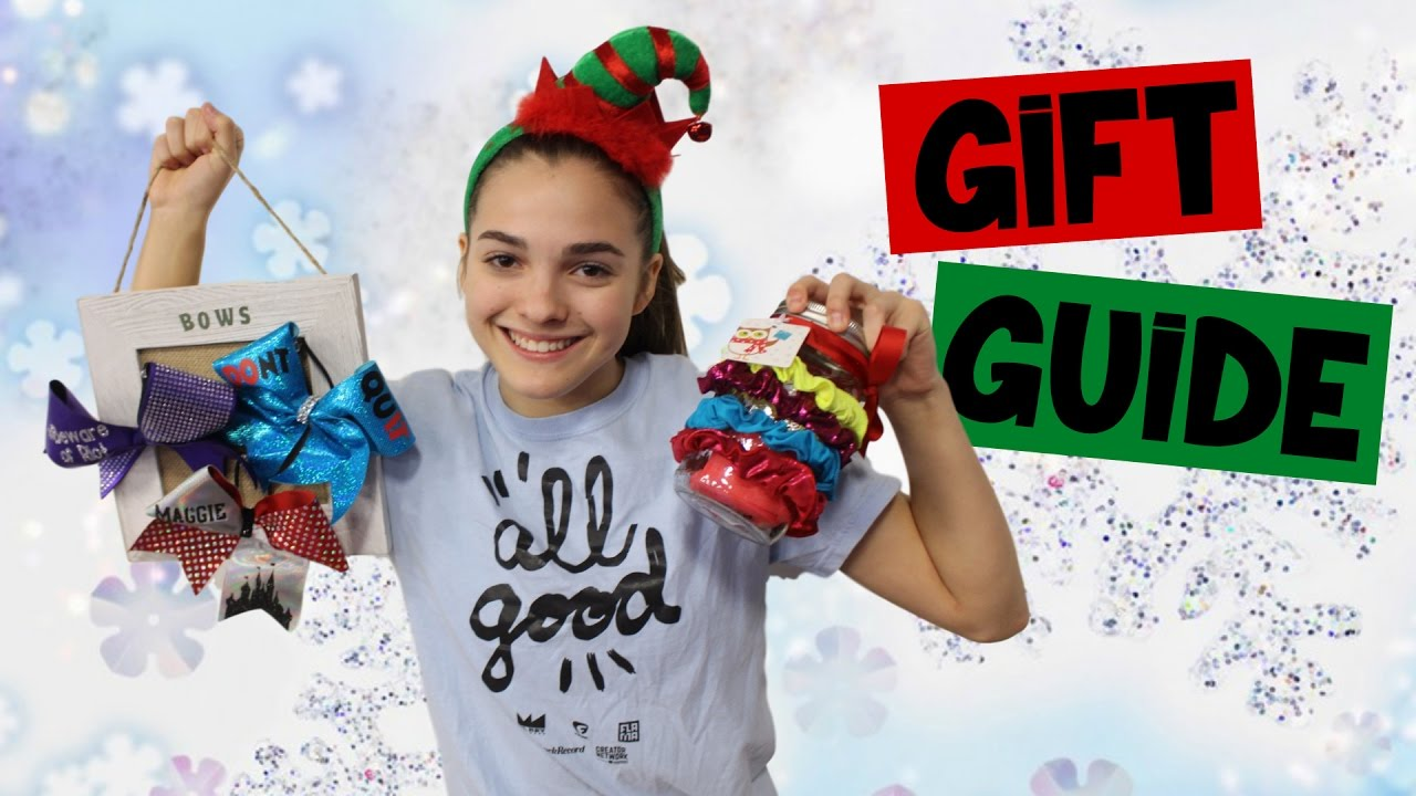GIFT GUIDE: What EVERY Gymnast or Cheerleader wants for Christmas!