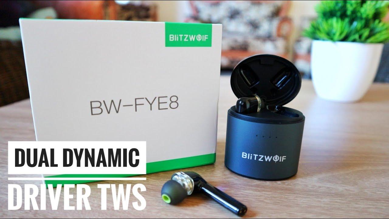 TWS dual dynamic driver - Review Blitzwolf BW FYE8
