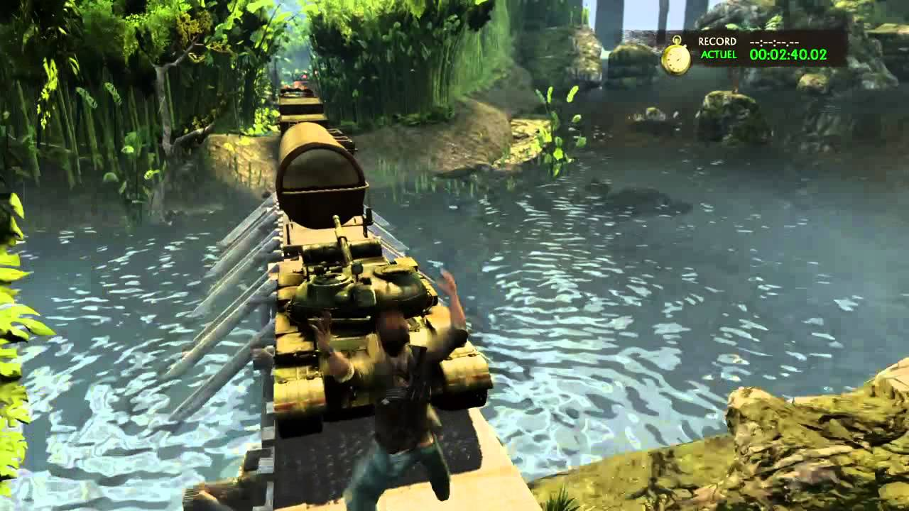 Uncharted 2 Among Thieves Train D Enfer Youtube