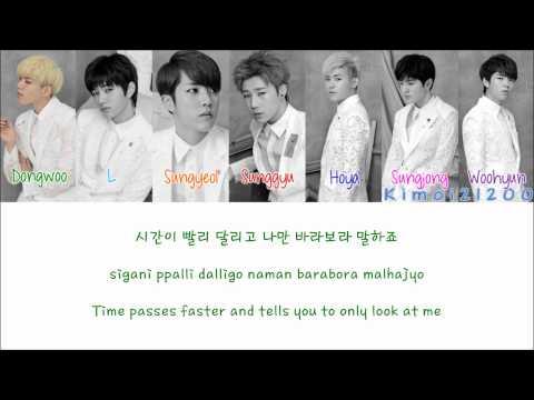 Infinite - Follow Me [Hangul/Romanization/English] Color & Picture Coded HD