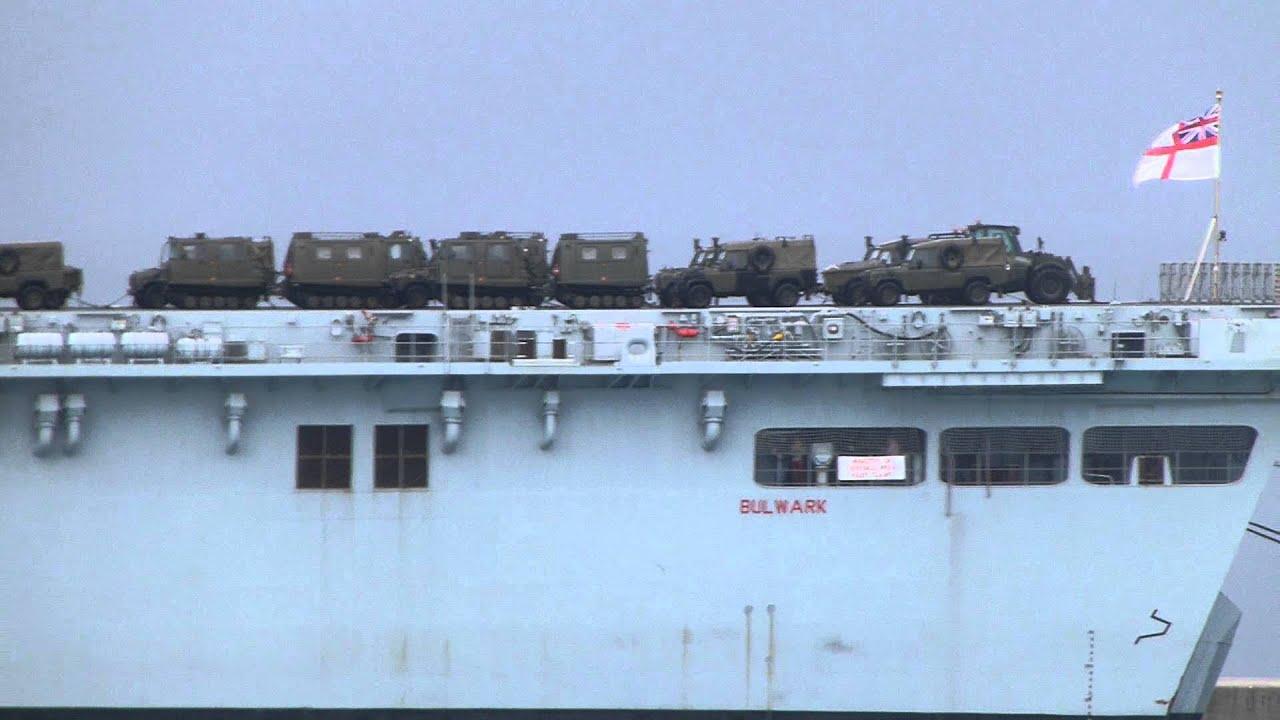 HMS Bulwark - YouTube