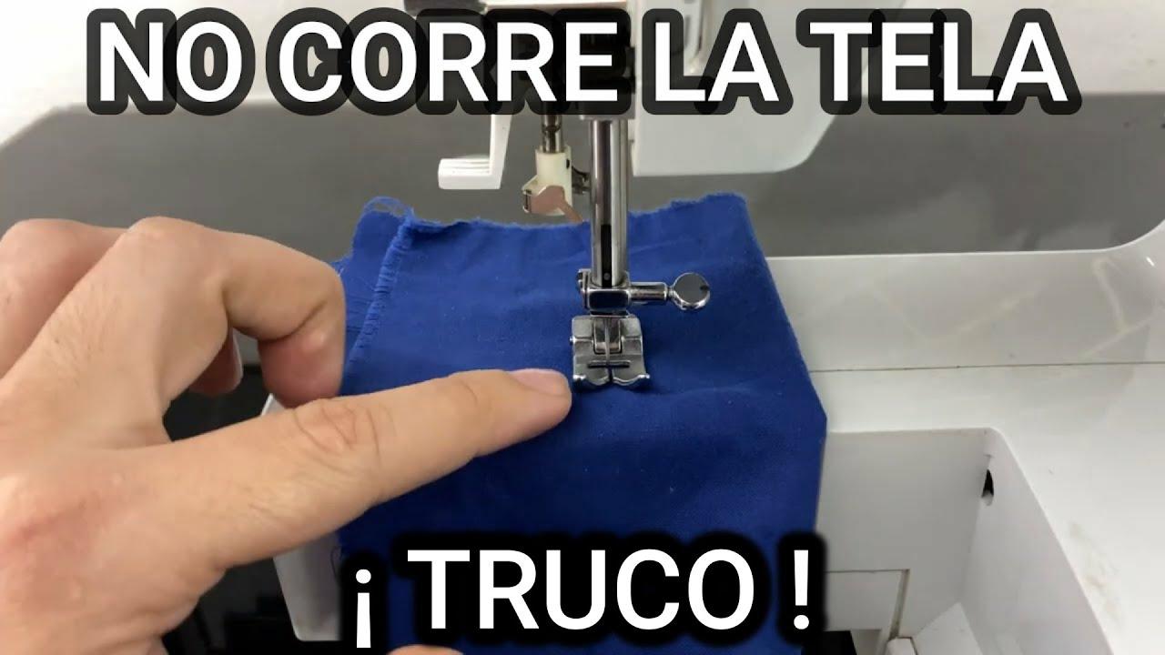 Mi maquina de coser NO CORRE LA TELA l #mecanicaconfeccion