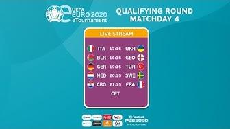eEURO 2020 Qualifying Round - Groups F-J
