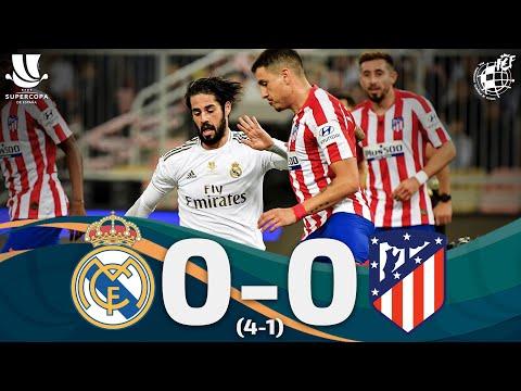 RESUMEN | Real Madrid 0 (4) - (1) 0 Atlético de Madrid | Supercopa de España