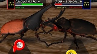 リクエスト by 天魔 shige, 市村紀樹 No.002 Hercules Beetle - Power 200 ヘルクレスオオカブト (Dynastes hercules) 超必殺技 : ローリングドライバー Rolling Driver...