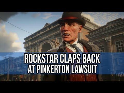 Rockstar claps back against Pinkerton Lawsuit