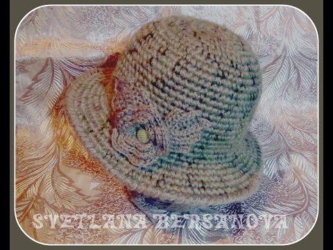 Вязаные шляпы крючком