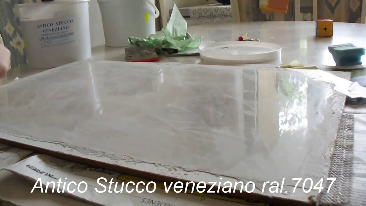 Marble Venetian Polished Plaster - step by step guide