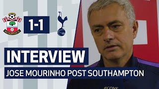 INTERVIEW | JOSE MOURINHO ON SAINTS DRAW