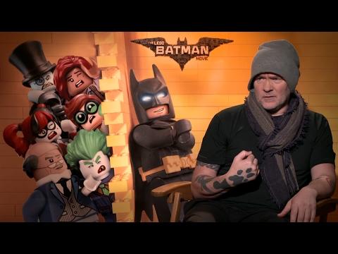 Director Chris McKay Exclusive THE LEGO BATMAN MOVIE 2017 |FanMade|