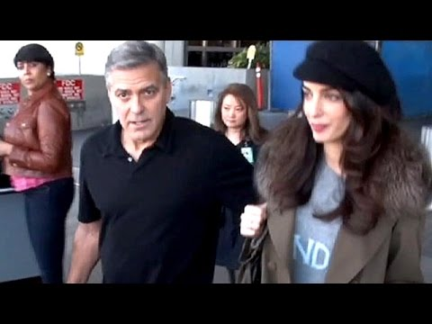 George Clooney And Wife Amal Expecting Their First Child