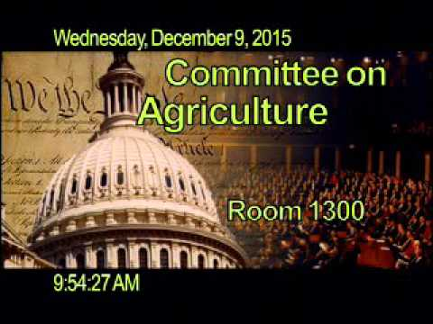 Subcommittee - Public Hearing: Commodity in Focus: Stress in Cotton Country
