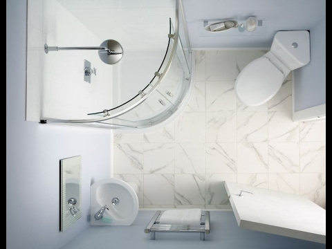 Small ensuite bathroom decorating ideas youtube for Tiny ensuite designs