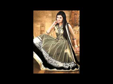 Indian Wedding Clothes Anarkali Frocks Designs For Ladies2015
