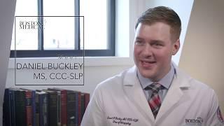 Meet Speech Language Pathologist Daniel Buckley
