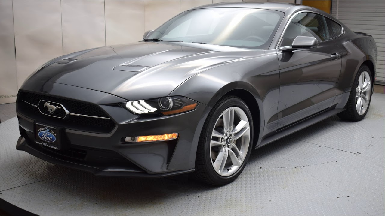 2018 magnetic ford mustang 2d coupe 7011 youtube. Black Bedroom Furniture Sets. Home Design Ideas