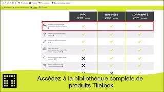 Accédez à la bibliothèque complète de produits Tilelook
