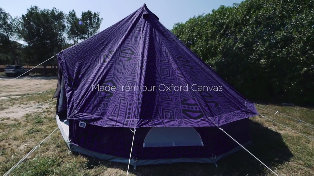 Purple Rain Bell Tent Boutique Camping