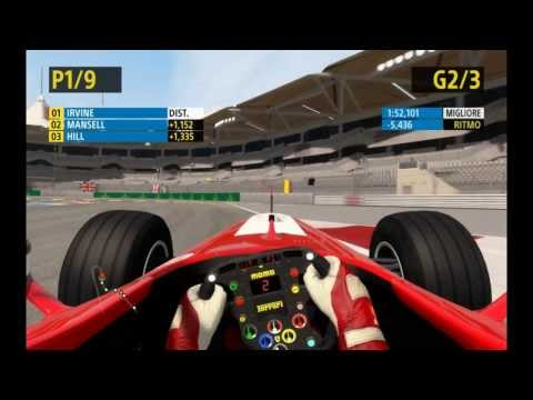 F1 2013™ Codemasters Historic Gameplay - Race Yas Marina, Eddie Irvine - PC