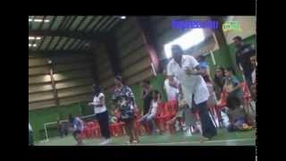 Badminton Pou Zenfan:  Sport et Fun pour les enfants de Cité Barkly. (vidéo: Thimons Jennah)