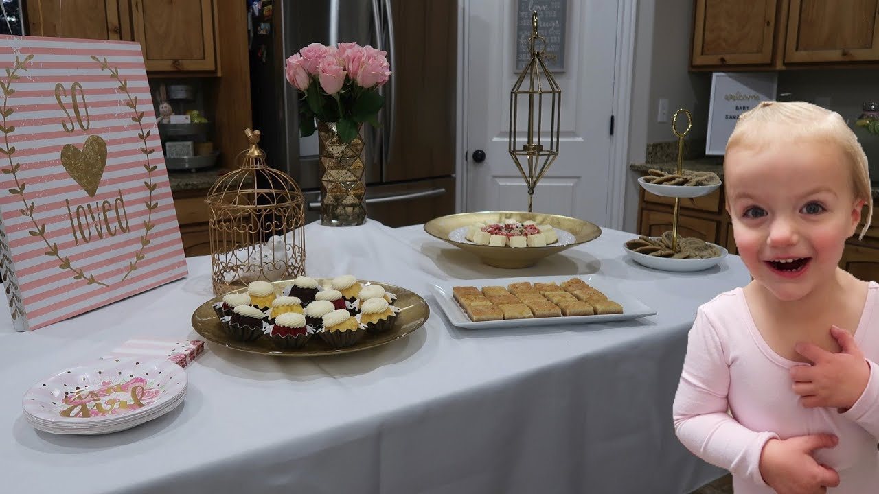 How To Host A Beautiful Baby Shower On A Budget Youtube