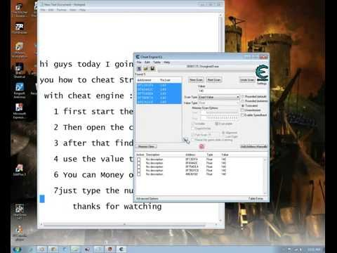 How to cheat stronghold 3  2013