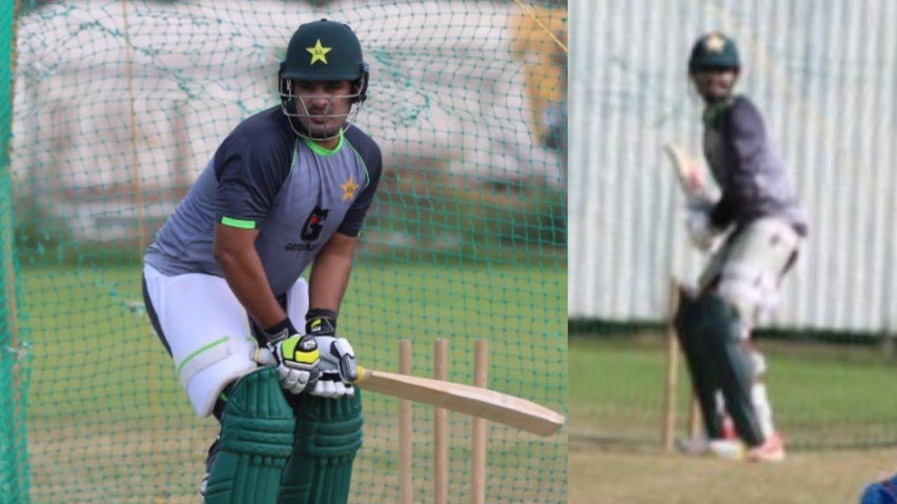 Sharjeel Khan & Babar Azam Batting Practice in West Indies   WIvsPak 1st T20  