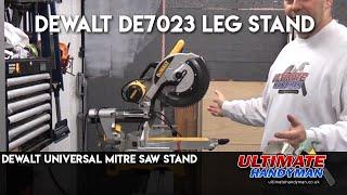 Dewalt De7023 Leg Stand | Dewalt Universal Mitre Saw Stand