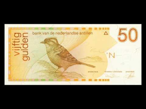 All Netherlands Antillean Guilder Banknotes - 1986 to 1994 Birds Issue