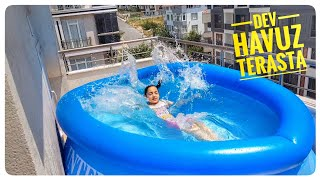 DEV HAVUZU TERASA KURDUK GIANT SWIMMING POOL, Kids Video