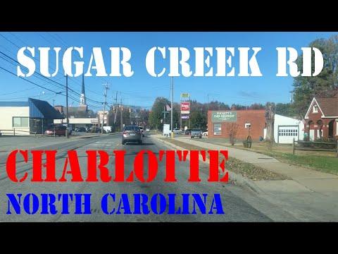 Sugar Creek Rd - FULL Route - Charlotte - North Carolina - Street Drive