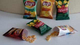 Чипсы для кукол / Chips for dolls
