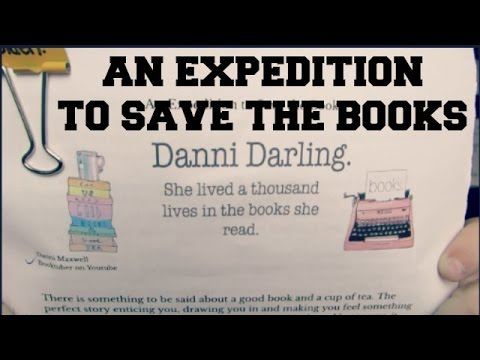 An Expedition to Save the Books | Expository Essay