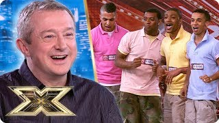 JLS impress the judges in their very FIRST appearance! | The X Factor UK