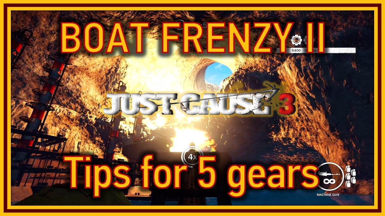 machine gun frenzy just cause 3
