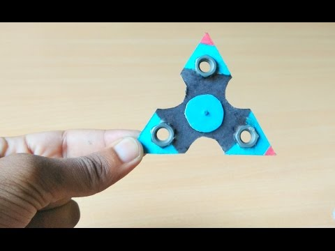 How to Make Fidget Spinner at Home Without Bearings