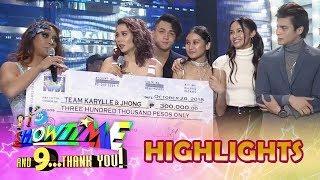 It's Showtime Magpasikat 2018: Team Karylle and Jhong wins Magpasikat 2018