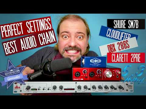 Shure SM7B Best Audio Chain & Perfect DBX 286s Settings from YouTube · Duration:  6 minutes 23 seconds