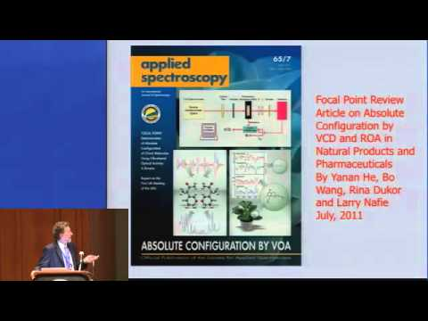 Pittcon 2013 - Pittsburgh Spectroscopy Award - Abstract 3