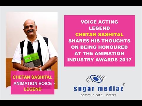 Chetan Sashital - On being honoured as Voice Acting Legend