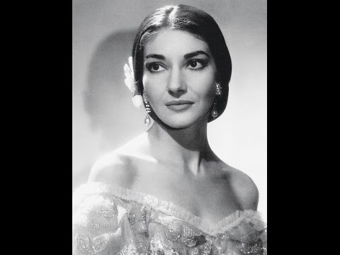 Maria Callas singing the finale of Act 1 of