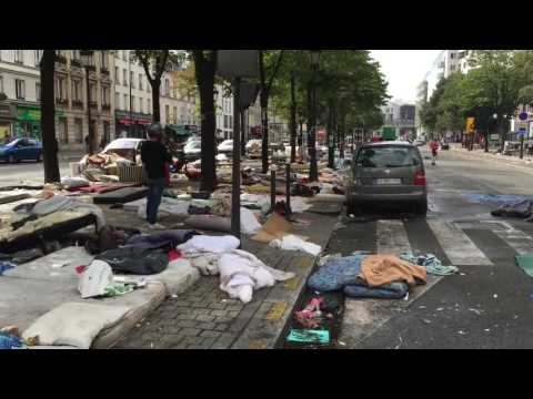 SHOCKING VIDEO OF PARIS AFTER REFUGEES BOOTED OFF STREETS
