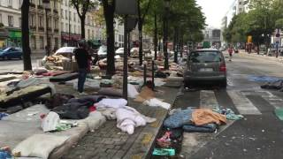 SHOCKING VIDEO OF PARIS AFTER REFUGEES BOOTED OFF STREETS(Dated September 16 - 2016. Since the evacuation, more illegal migrants have arrived throughout France. Coming to America and you will have Barack Obama ..., 2016-09-27T17:56:07.000Z)