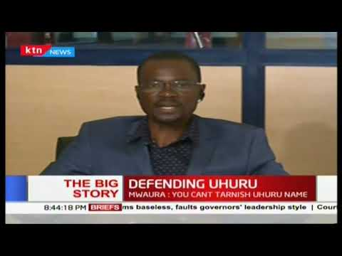 A section of Jubilee leaders take the mantle in defending President Uhuru (Part 2)|The Big Story