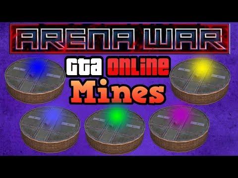 Arena War Vehicle Mines! - GTA Online Guides