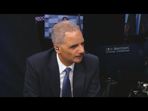 "Former AG Eric Holder calls Trump a ""very shallow man"""